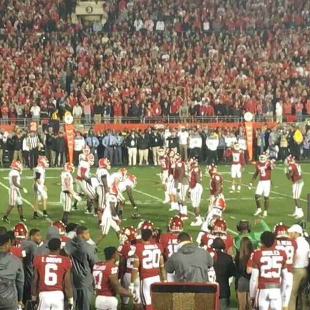 Wow - I had the most amazing dream - @ugaathletics @georgiafootball was in the @cfbplayoff playoff at the @rosebowlgame ...