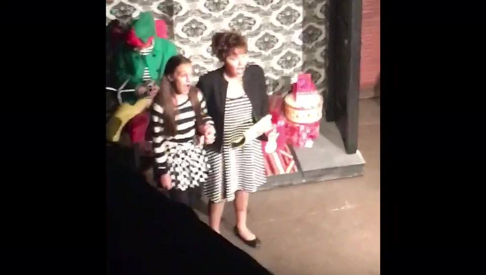 Clips from this past weekend's sold out production of Elf, Jr. 🎭🎶