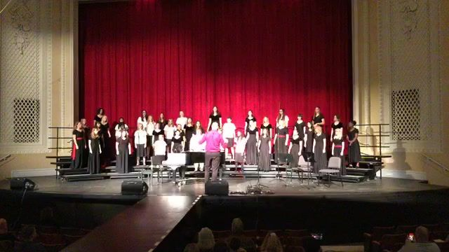 Boise high School Choirs Fall Collage Concert October 15 2019