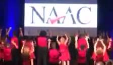 Check out the Las Vegas Spectrum Show Choir's spectacular performance at the 2018 NAAC Conference!