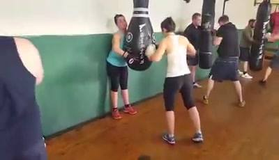 Video from last night's boxing circuit showing everyone working hard remember tonight it's mma 6-8 circuits back tomorro...