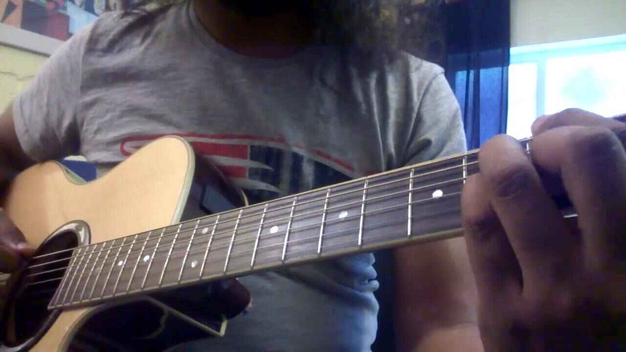 A little jazz lick using tri-tone substitution on the V7.