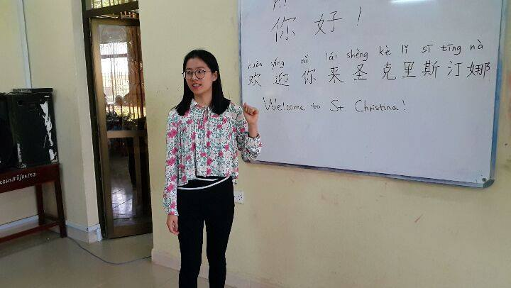 Chinese classAcademic excellence is our moto