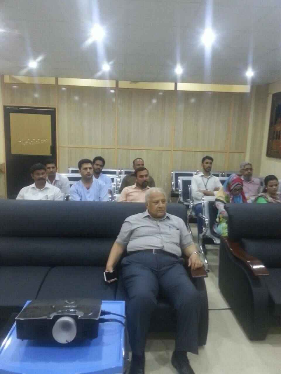 Osmania Hospital Karachi conducted a training of their reception and some other staff members on March 21, 2017 at 2.30 ...