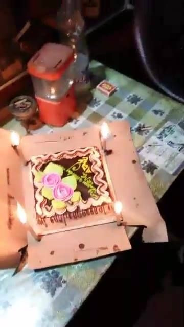 Birthday party for our student  Atanu Dey $drummer of band unity$