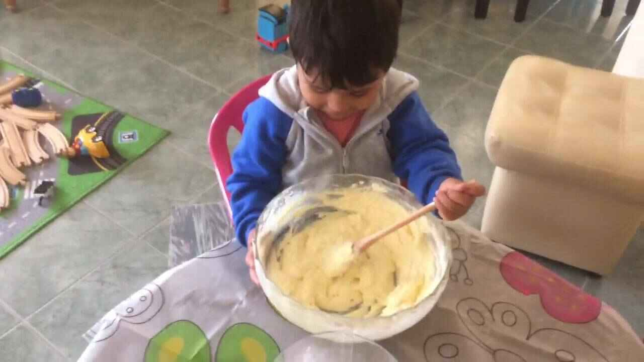 Children did really enjoy sing while cooking experience