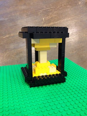 """Here are the entries in the September LEGO Challenge, the theme was """"Time"""""""