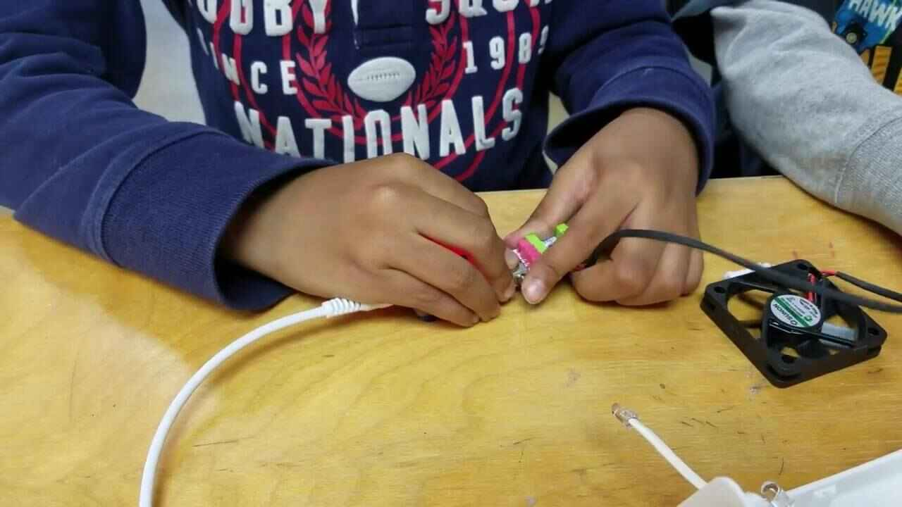 Our first graders are learning about electric circuits!