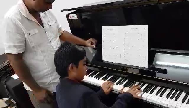 Warm up before ABRSM exams